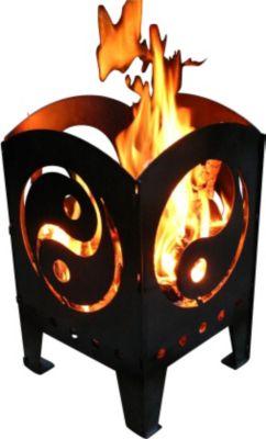 Feuerkorb ying und yang hier versandkostenfrei zum for Gasgriller landmann