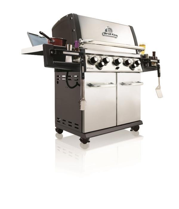 Broil King Regal 590 PRO inkl. Knopfbeleuchtung 2016