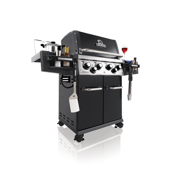Broil King Regal 490 Black inkl. Knopfbeleuchtung 2016