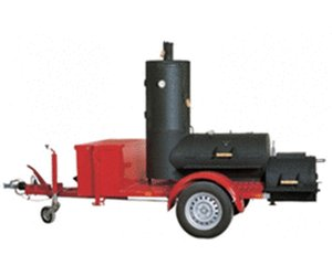 Rumo Joe's 20'' Chuckwagon Catering Smoker Trailer