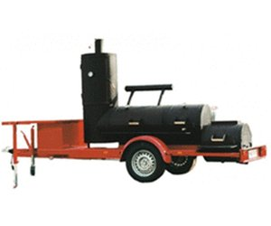 Rumo Joe's 24'' Extended Catering Smoker Trailer
