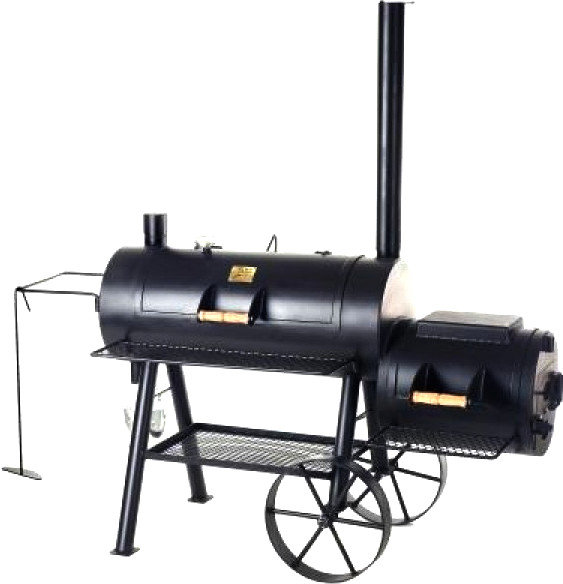 Rumo Joe's Barbeque Smoker 16'' Reverse Flow