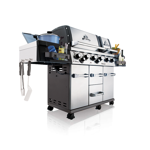 Broil King Imperial 690 XL Pro mit Knopfbeleuchtung