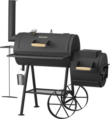 Sunset BBQ Buffalo Smoker