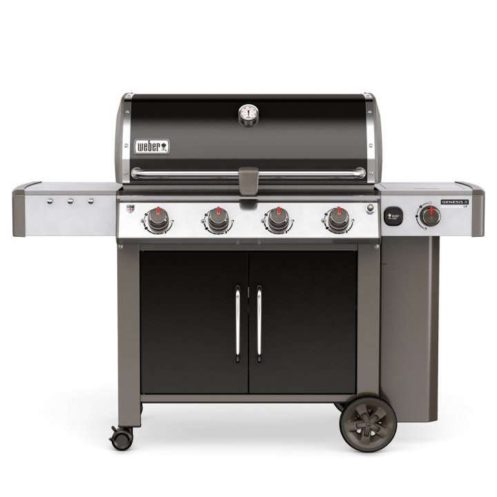 Weber Gasgrill Genesis ® II LX E-440? GBS?, Black + Weststyle Edition